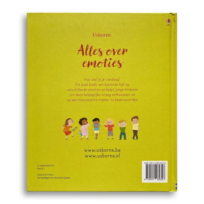 Korte beschrijving kinderboek Alles over emoties. EmotieBoeken.