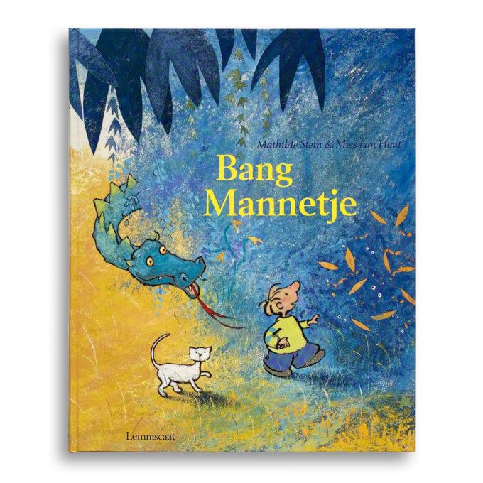 Cover kinderboek Bang mannetje. EmotieBoeken.