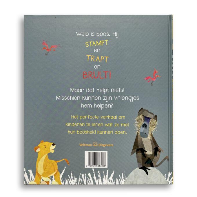 Korte beschrijving kinderboek De grote boze brul. EmotieBoeken.