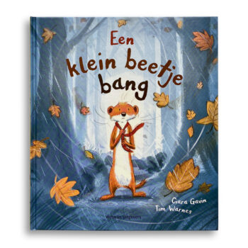 Cover kinderboek Een klein beetje bang. EmotieBoeken.
