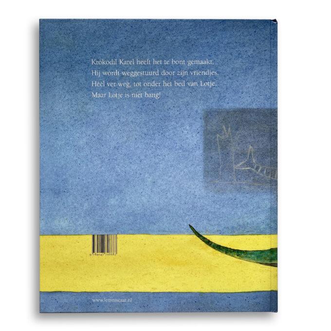 Korte beschrijving kinderboek Er ligt een krokodil onder mijn bed. EmotieBoeken.
