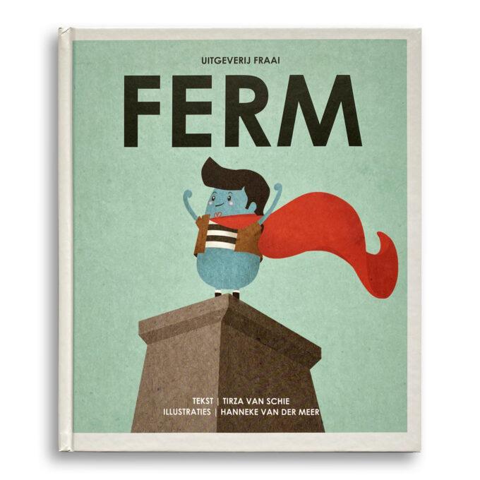 Cover kinderboek Ferm. EmotieBoeken.