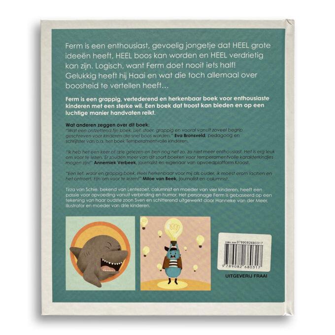 Korte beschrijving kinderboek Ferm. EmotieBoeken.