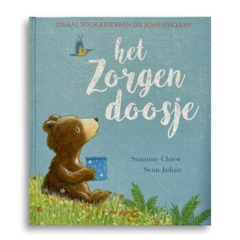 Cover kinderboek Het zorgendoosje. EmotieBoeken.