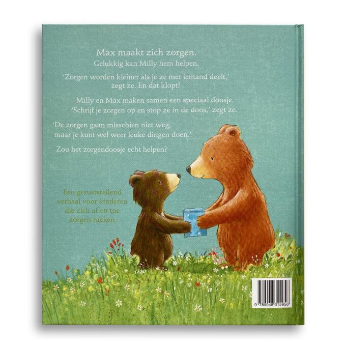 Korte beschrijving kinderboek Het zorgendoosje. EmotieBoeken.