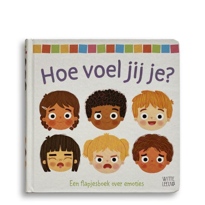 Cover kinderboek Hoe voel jij je? EmotieBoeken.