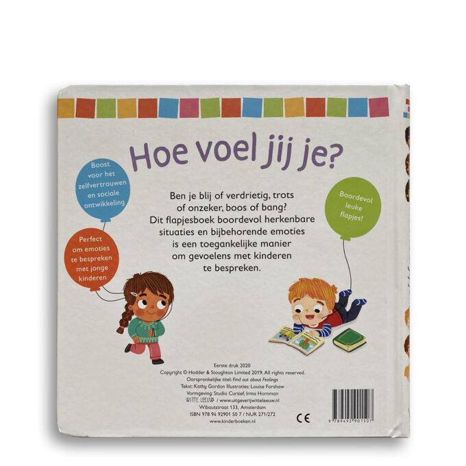 Korte beschrijving kinderboek Hoe voel jij je? EmotieBoeken.