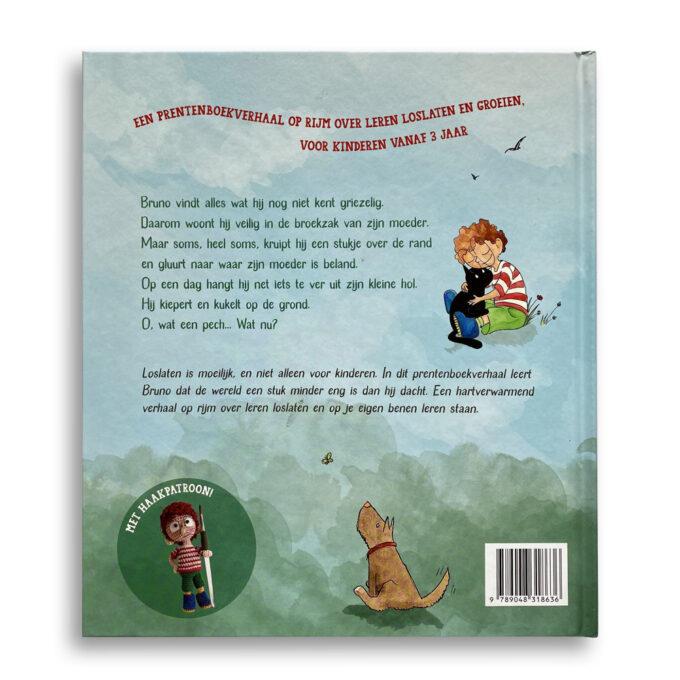 Korte beschrijving kinderboek Kleine held op sokken. EmotieBoeken.