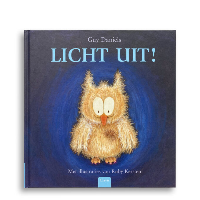 Cover kinderboek Licht uit! EmotieBoeken.