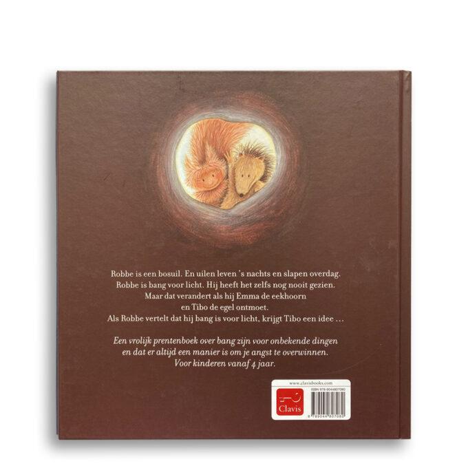 Korte beschrijving kinderboek Licht uit! EmotieBoeken.