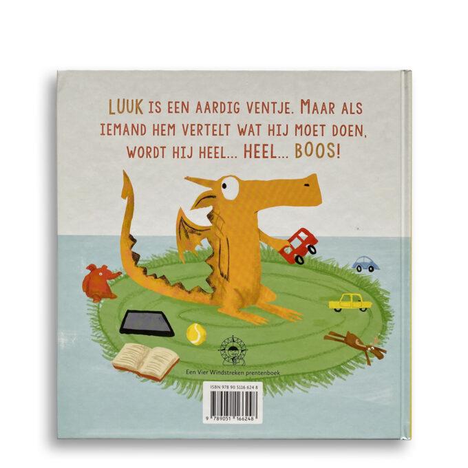 Korte beschrijving kinderboek Luuk is laaiend. EmotieBoeken.