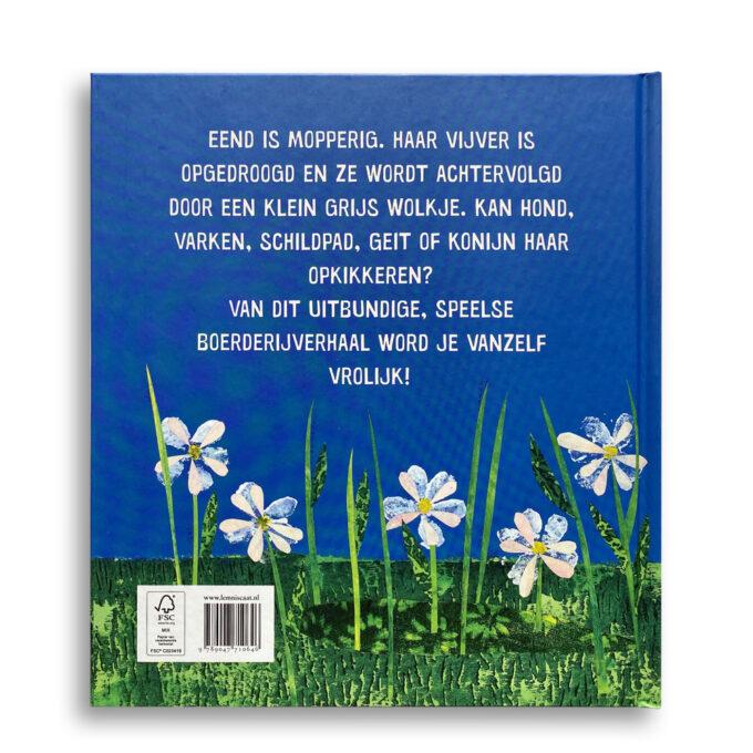Korte beschrijving kinderboek Moppereend. EmotieBoeken.