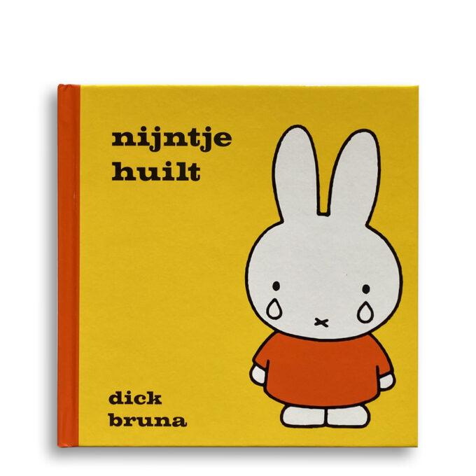 Cover kinderboek Nijntje huilt. EmotieBoeken.