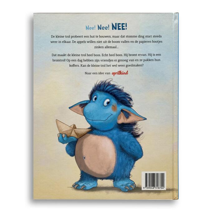 Korte beschrijving kinderboek De Bromtrol. EmotieBoeken.