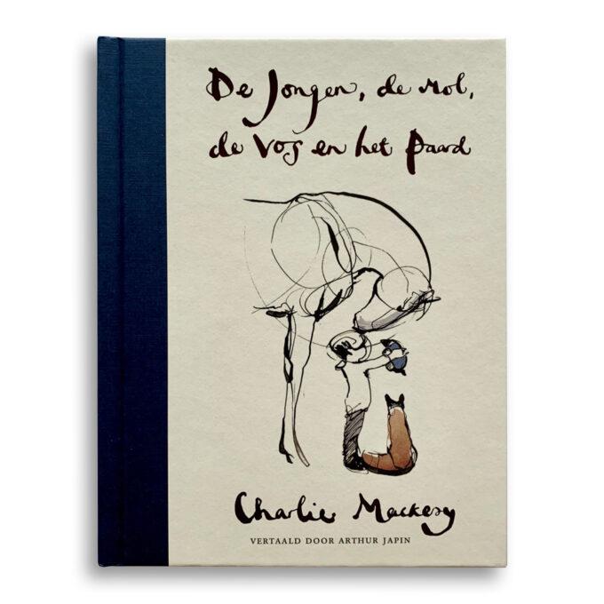 Cover kinderboek De jongen, de mol, de vos en het paard. EmotieBoeken.