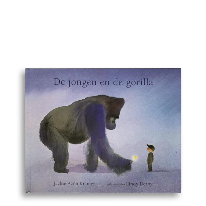 Cover kinderboek De jongen en de gorilla. EmotieBoeken.