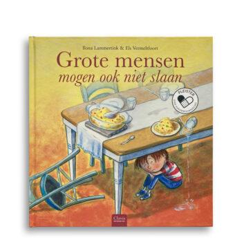 Cover kinderboek Grote mensen mogen ook niet slaan. EmotieBoeken.