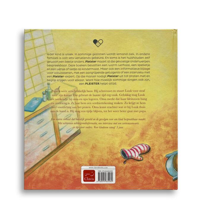 Korte beschrijving kinderboek Grote mensen mogen ook niet slaan. EmotieBoeken.
