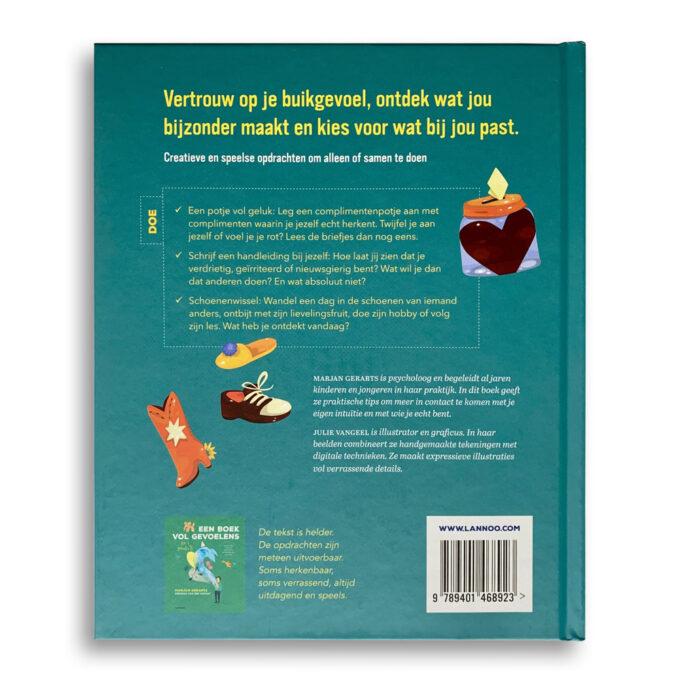 Korte beschrijving kinderboek Het grote boek van mij. EmotieBoeken.