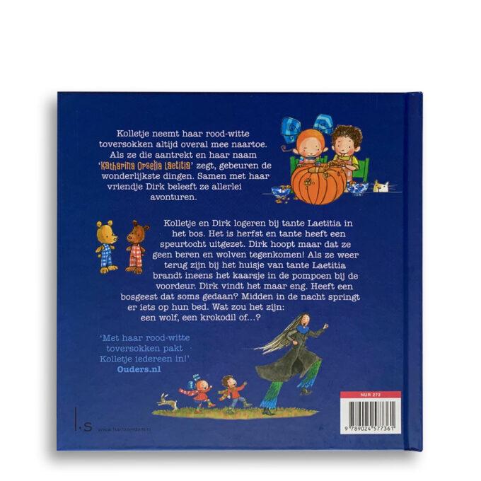 Korte beschrijving kinderboek Kolletje en Dirk. Gruwelijk eng! EmotieBoeken.