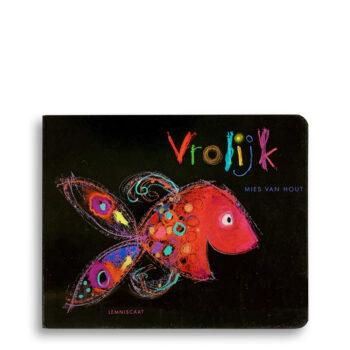 Cover kinderboek Vrolijk. EmotieBoeken.