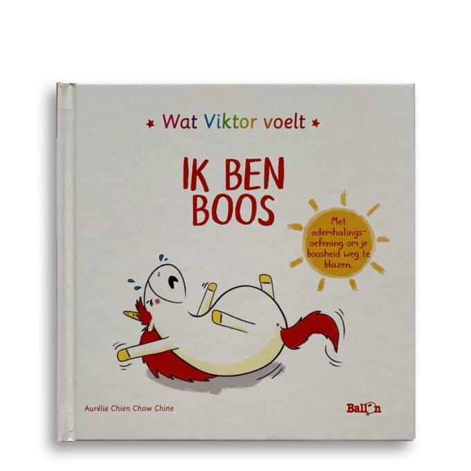 Cover kinderboek Wat Viktor voelt. Ik ben boos. EmotieBoeken.