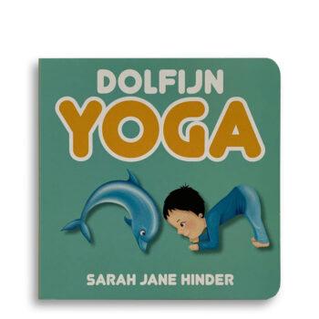 Cover kinderboek Dolfijn Yoga. EmotieBoeken.