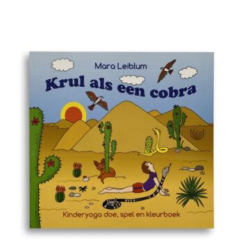 Cover kinderboek Krul als een cobra. EmotieBoeken.