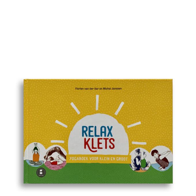 Cover kinderboek Relaxklets. EmotieBoeken.