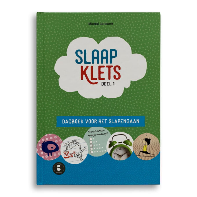 Cover kinderboek Slaapklets. EmotieBoeken.