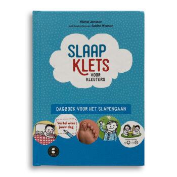 Cover kinderboek Slaapklets Voor kleuters. EmotieBoeken.