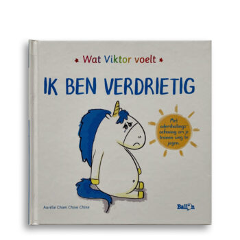 Cover kinderboek Wat Viktor voelt. Ik ben verdrietig. EmotieBoeken.