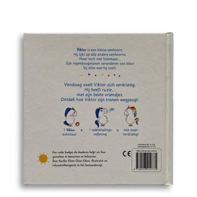 Korte beschrijving kinderboek Wat Viktor voelt. Ik ben verdrietig. EmotieBoeken.