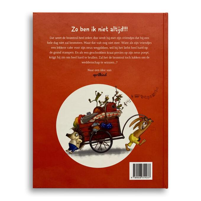 Korte beschrijving kinderboek De Bromtrol... probeert niet te brommen Emotieboeken