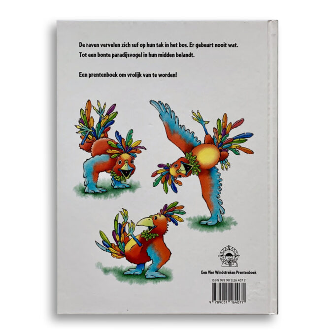 Korte beschrijving Kinderboek De Paradijsvogel Emotieboeken