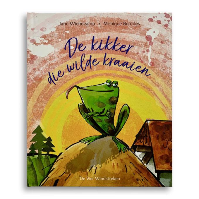 Cover Kinderboek De kikker die wilde kraaien Emotieboeken