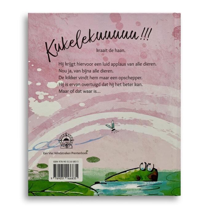 Korte beschrijving Kinderboek De kikker die wilde kraaien Emotieboeken