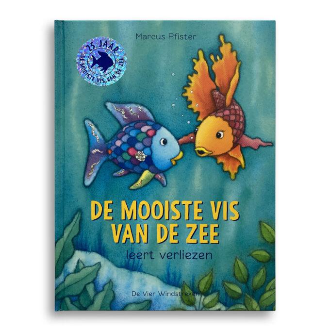 Cover De mooiste vis van de zee leert verliezen. Emotieboeken
