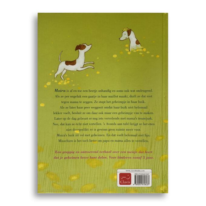 Korte beschrijving Kinderboek Een buik vol geheimen Emotieboeken