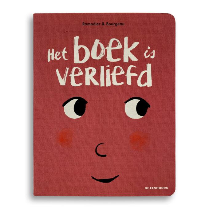 Cover Kinderboek Het boek is verliefd Emotieboeken