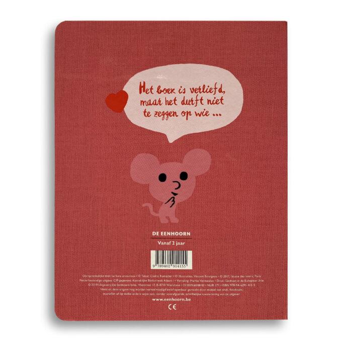 Korte beschrijving Kinderboek Het boek is verliefd Emotieboeken