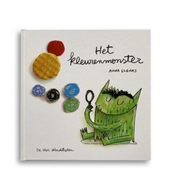 Cover kinderboek Het kleurenmonster. Emotieboeken