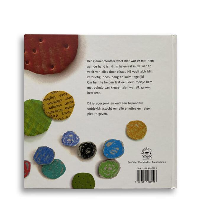 Korte beschrijving van kinderboek Het kleurenmonster. Emotieboeken