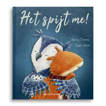 Cover kinderboek Het spijt me! Emotieboeken