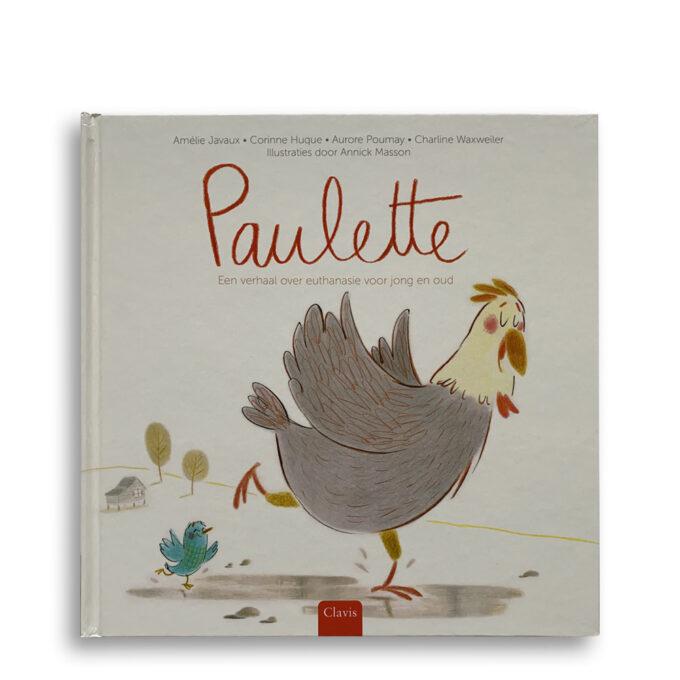 Cover kinderboek Paulette. Een verhaal over euthanasie voor jong en oud. Emotieboeken