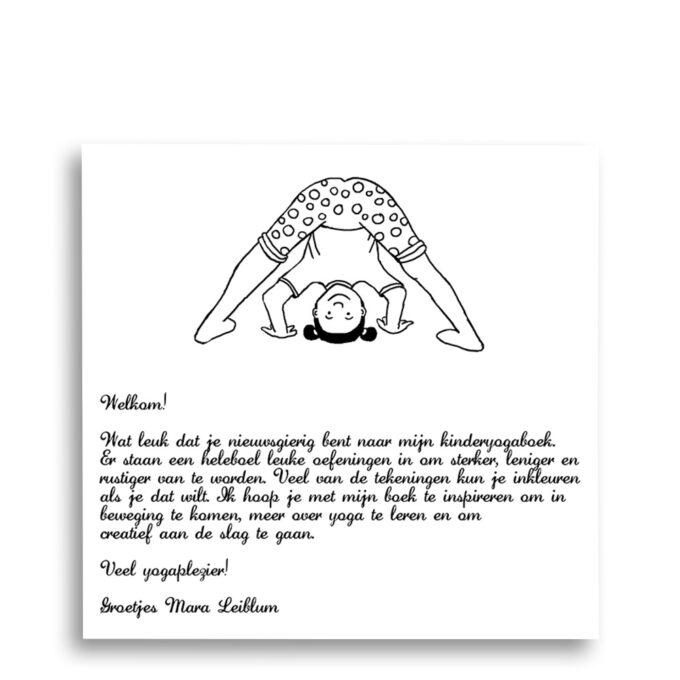 Welkomstwoord aan lezer van auteur Mara Leiblum kinderboek Krul als een Cobra