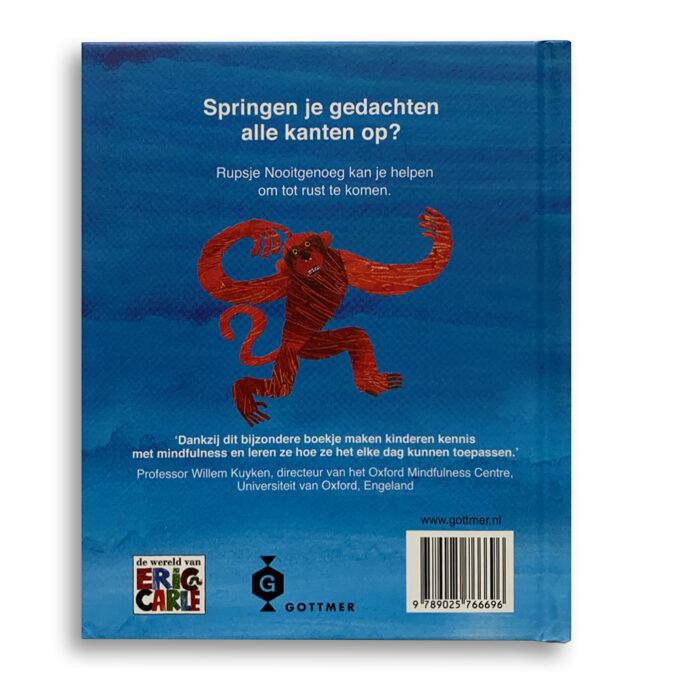 Korte beschrijving Kinderboek Rustig aan met Rupsje Nooitgenoeg Eric Carle Emotieboeken