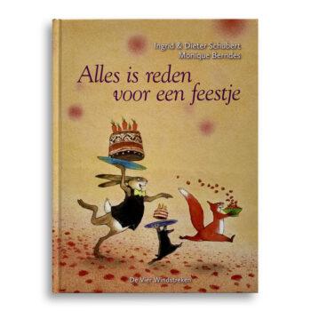 Cover kinderboek Alles is reden voor een feestje Emotieboeken