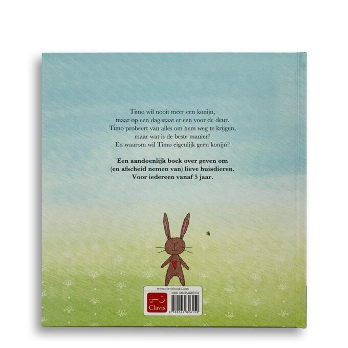 Korte beschrijving Ik wil geen konijn Kinderboek over verlies van een huisdier Emotieboeken